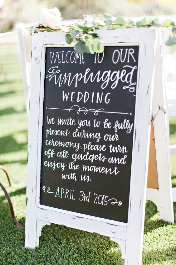 wedding unplug sign4